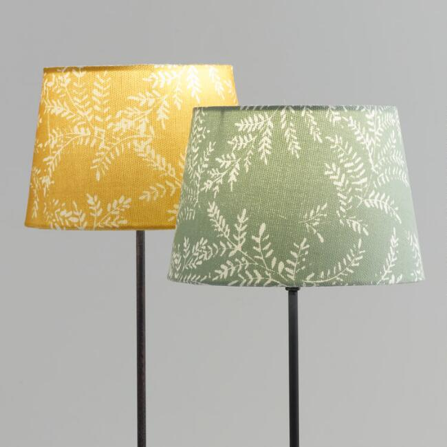 Mustard Yellow or Light Blue Yellowstone Accent Lamp Shade