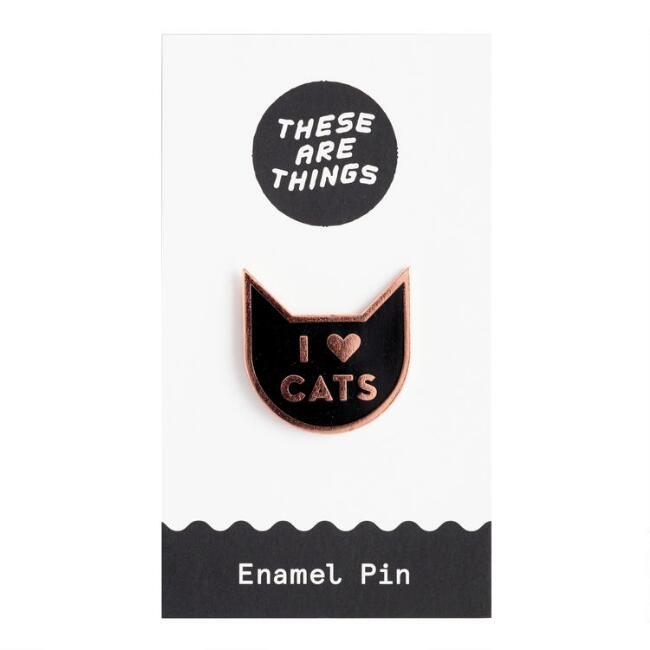 I Love Cats Enamel Pin