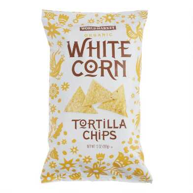 World Market® Organic White Corn Tortilla Chips Set of 12