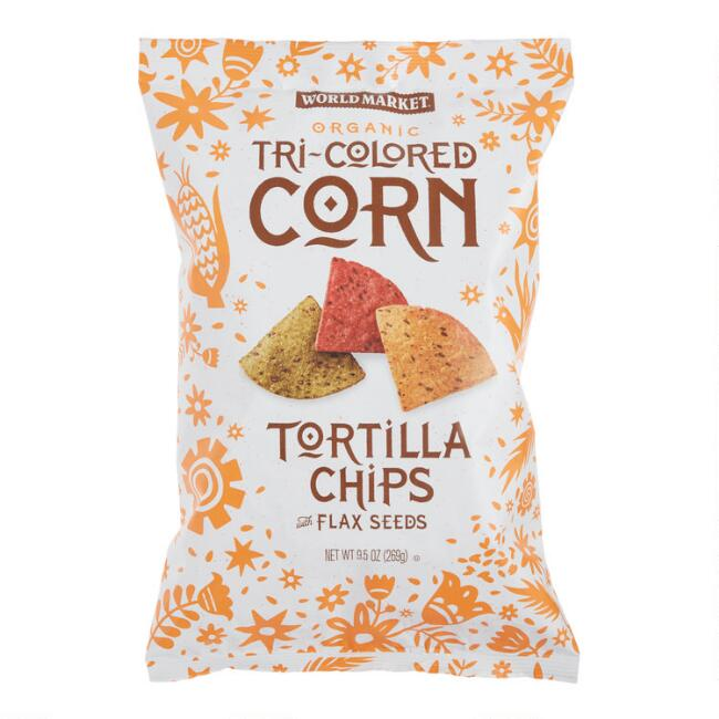 World Market® Organic Tri-Colored Tortilla Chips Set of 12