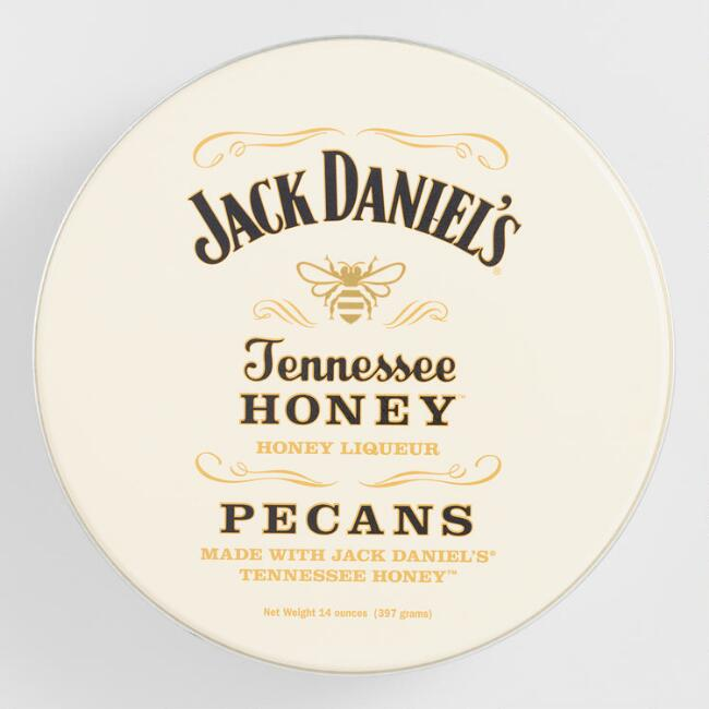Jack Daniel's Tennessee Honey Liqueur Pecans Tin
