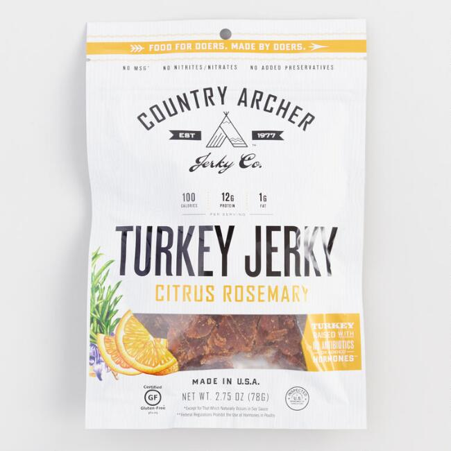 Country Archer Citrus Rosemary Turkey Jerky