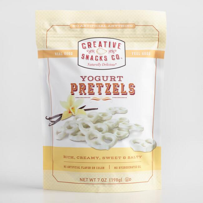 Creative Snacks Co. Yogurt Pretzels Set of 2