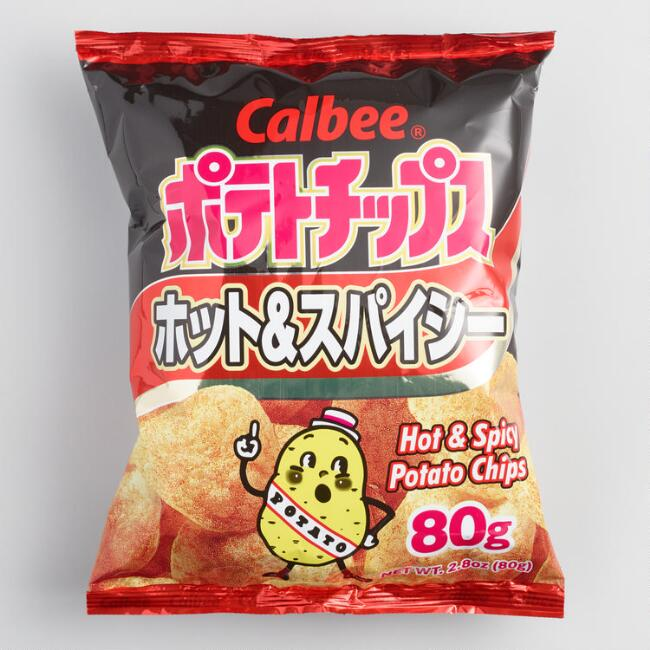 Calbee Hot and Spicy Potato Chips