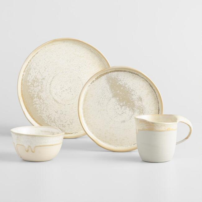 Natural Reactive Glaze Potter Dinnerware Collection