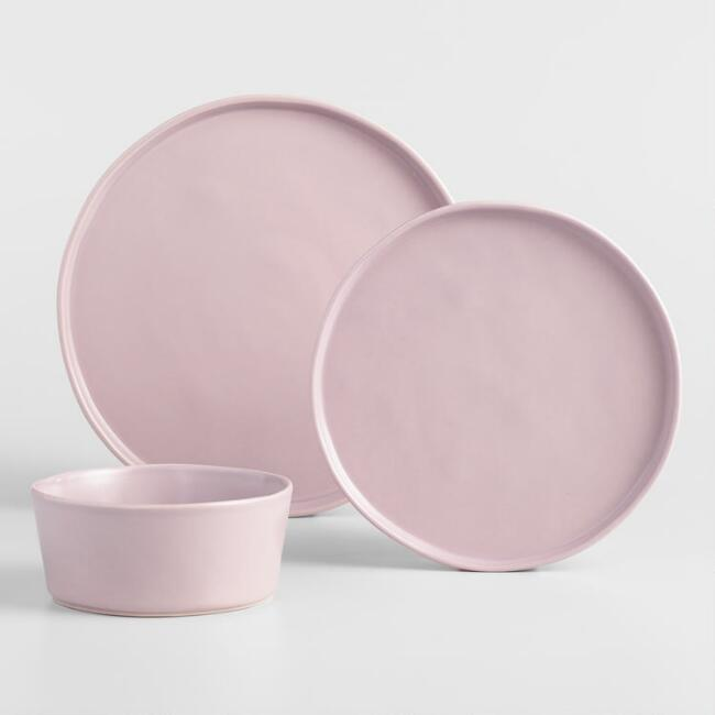 Lavender Organic Dinnerware Collection