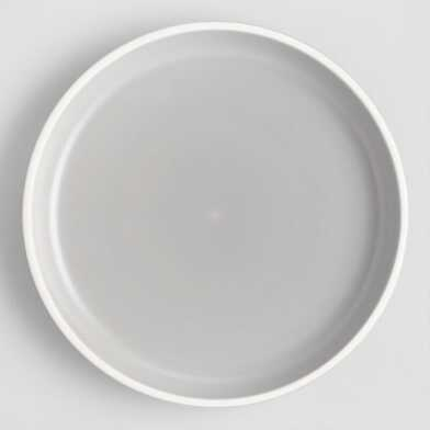 Gray And White Matte Brinley Salad Plates Set Of 4