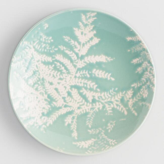 Soft Blue Yellowstone Appetizer Plates Set of 4