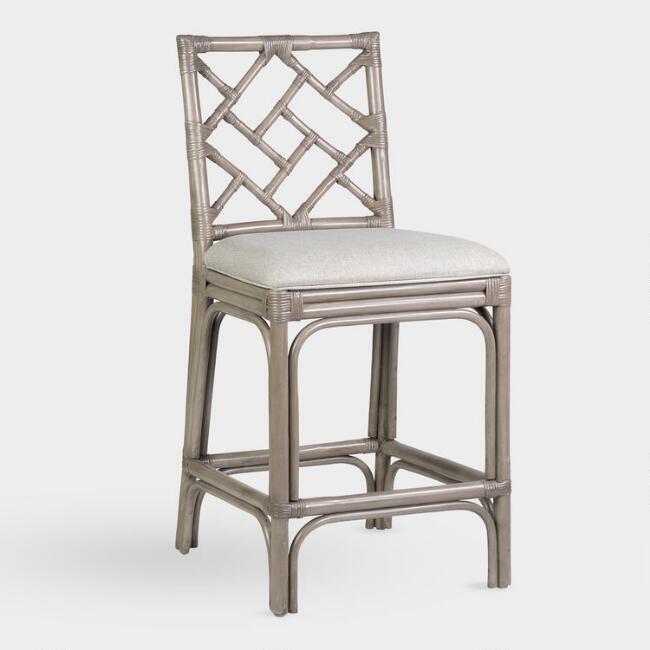 Rattan Victoria Counter Stool