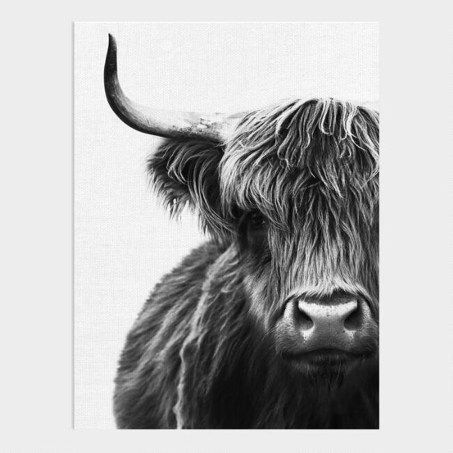 Bullish Portrait Canvas Wall Art