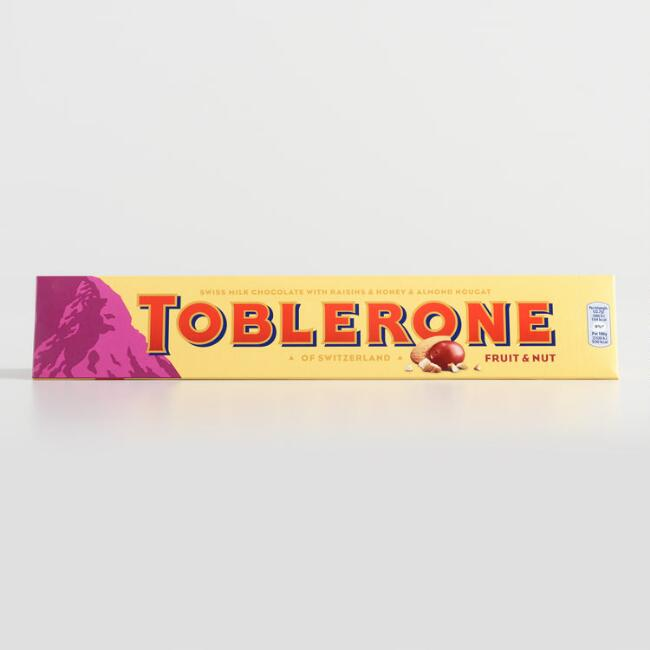 Giant Toblerone Fruit and Nuts Milk Chocolate Bar