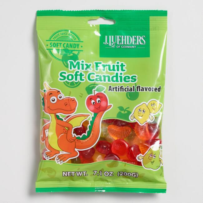 Luehders Mixed Fruit Gummy Candy