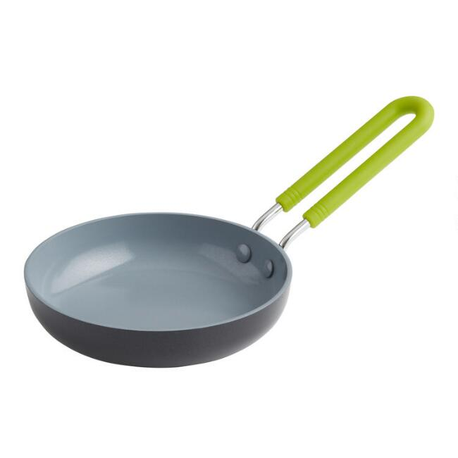 Mini Round GreenPan Nonstick Ceramic Egg Frying Pan