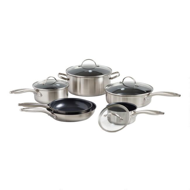 GreenPan Marina 10 Piece Nonstick Ceramic Cookware Set