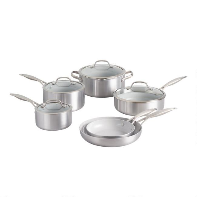 GreenPan Venice Pro 10 Piece Nonstick Ceramic Cookware Set