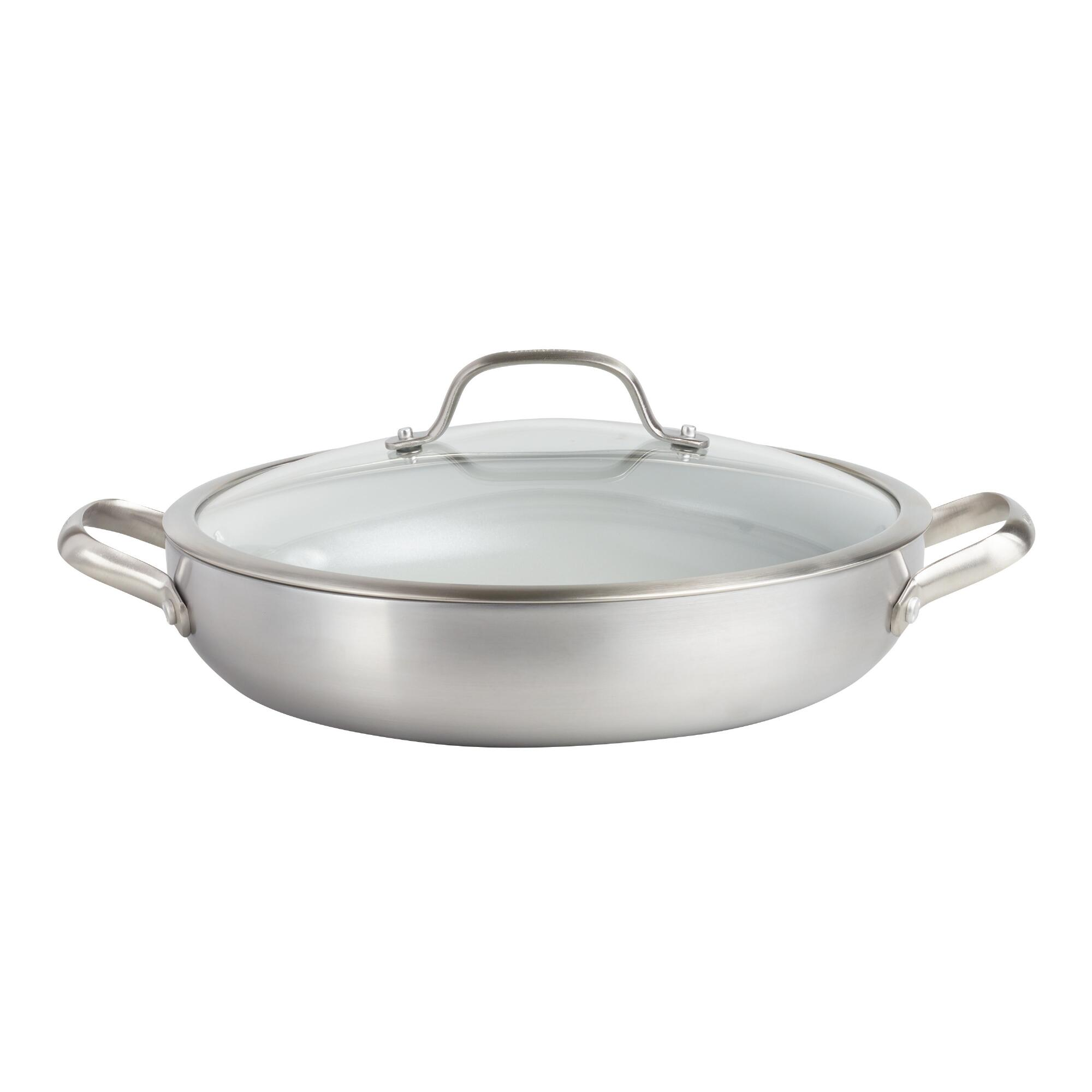 12 Inch GreenPan Venice Pro Nonstick Ceramic Everyday Pan by World Market