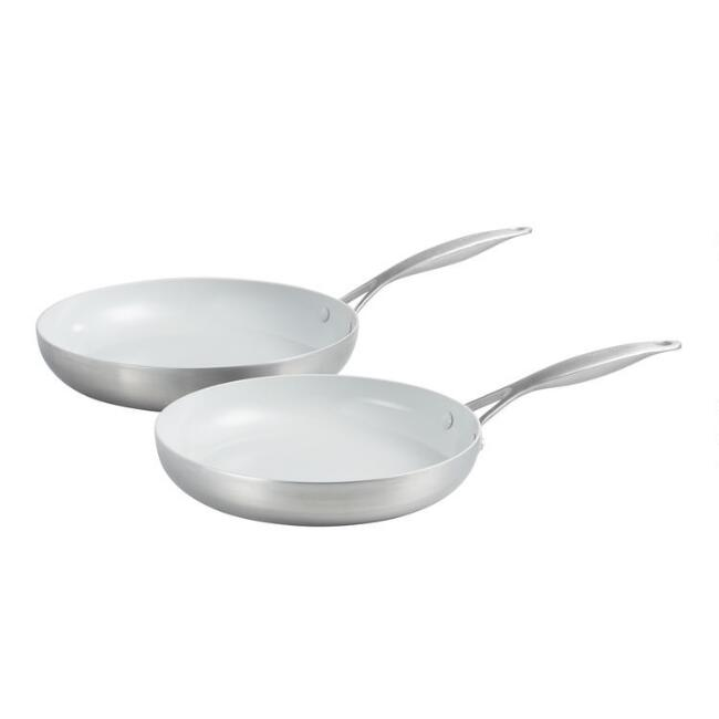 Large GreenPan Venice Pro Nonstick Ceramic Frying Pan 2 Pack