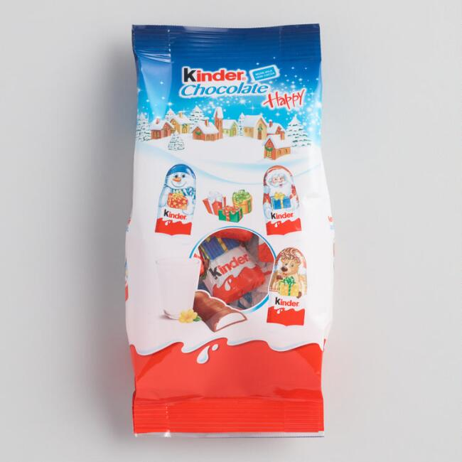 Kinder Happy Bag of Holiday Chocolates