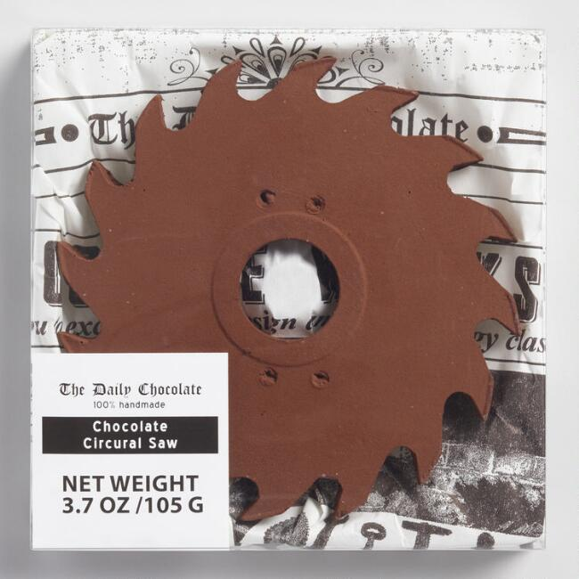 Chocolate Story Dark Chocolate Circular Saw