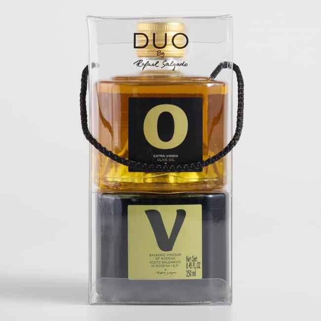 Extra Virgin Olive Oil and Balsamic Vinegar Gift Set