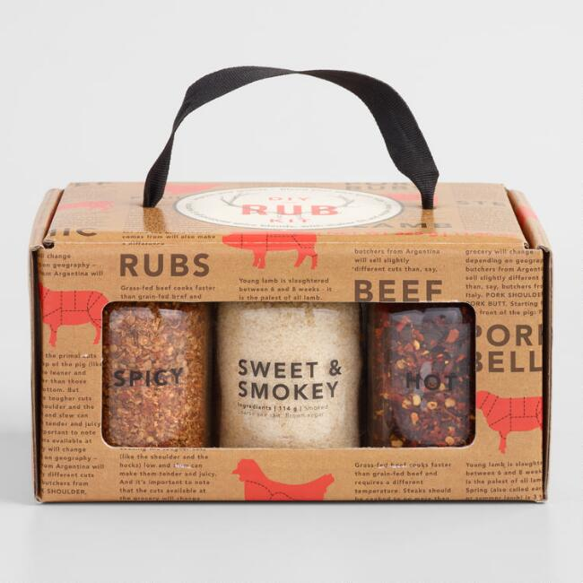 DIY Spice Rub Kit 6 Piece