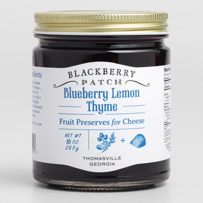 Blackberry Patch Blueberry Lemon Thyme Preserves