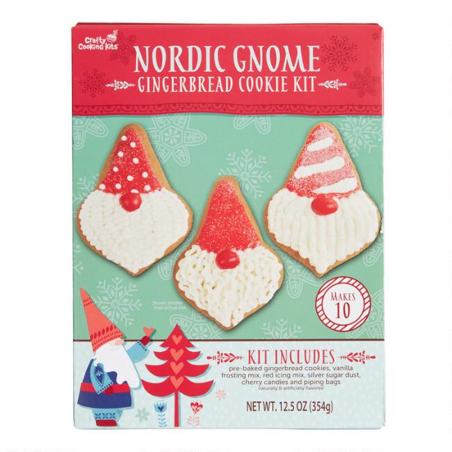 Gingerbread Gnome Cookie Kit