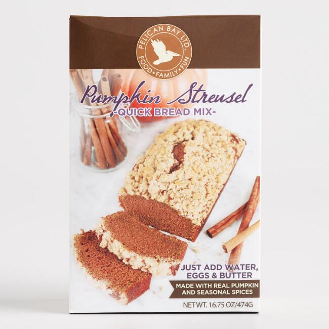 Pelican Bay Pumpkin Streusel Quick Bread Mix