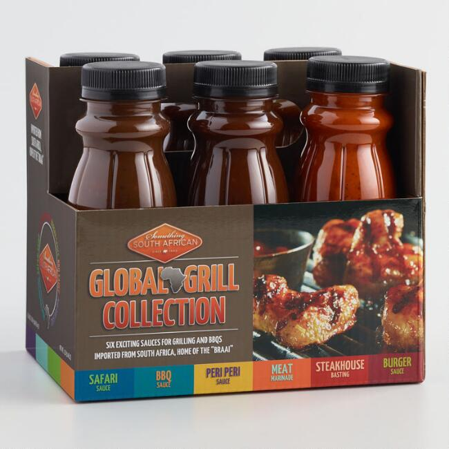 Global Grill Collection BBQ Sauce Set 6 Pack