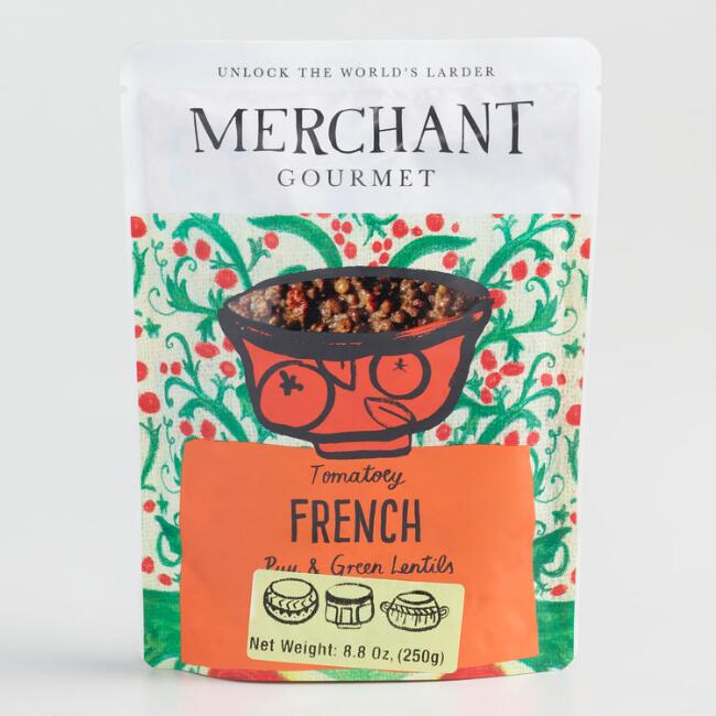 Merchant Gourmet French Puy and Green Lentils Set of 6