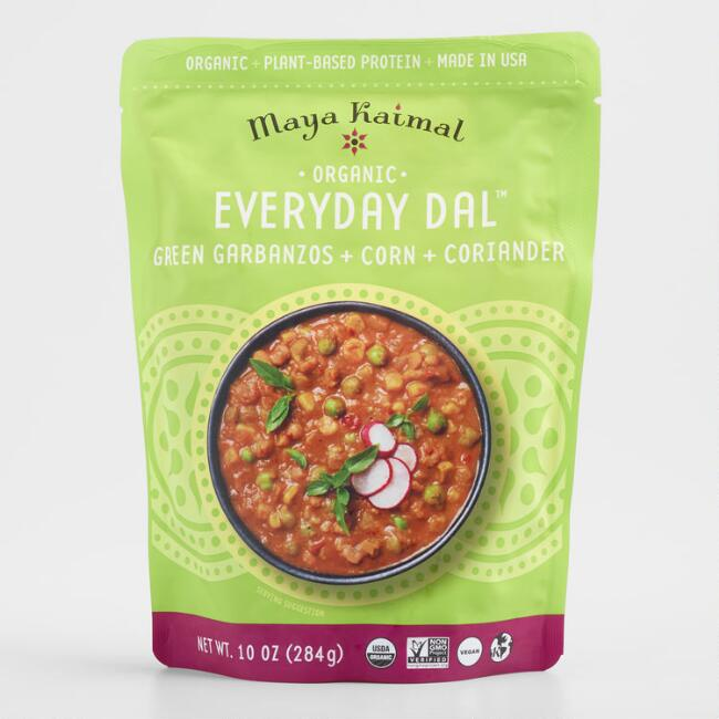 Maya Kaimal Organic Green Garbanzo Everyday Dal