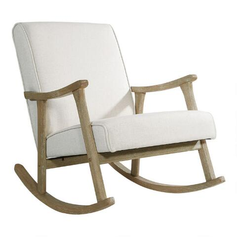 Pleasant Ivory Joanna Rocking Chair Caraccident5 Cool Chair Designs And Ideas Caraccident5Info