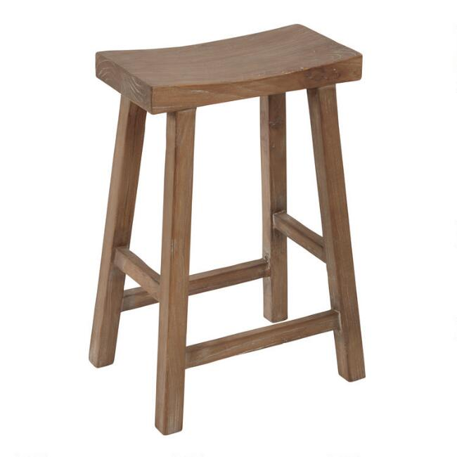 Reclaimed Elm Emerson Counter Stool