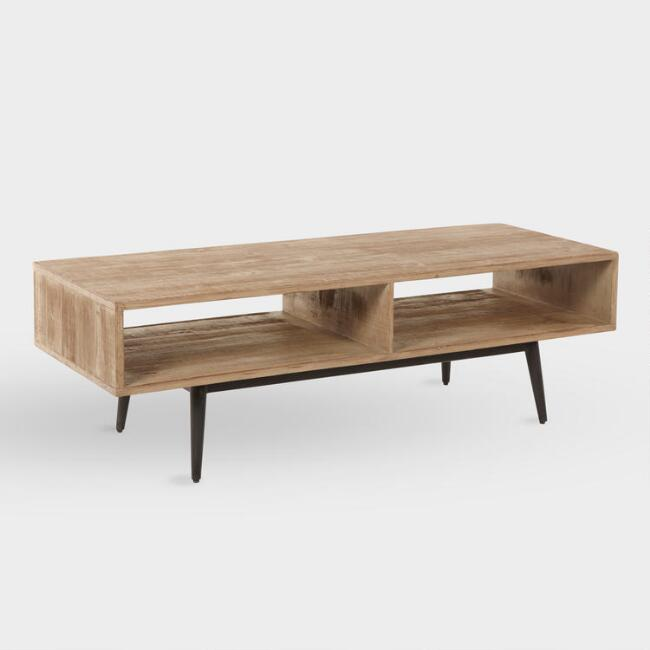 Reclaimed Pine Quinn Coffee Table by World Market