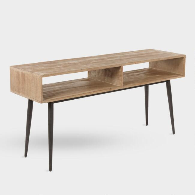 Reclaimed Pine Quinn Console Table