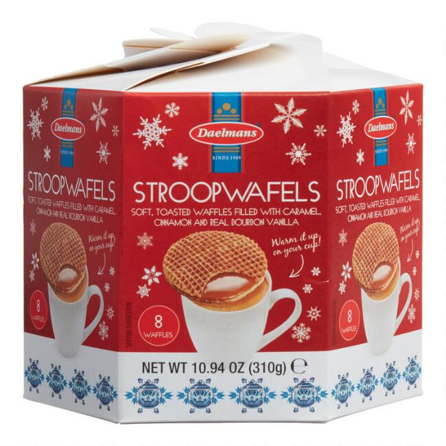 Daelmans Dutch Caramel Stroopwafel Holiday Box