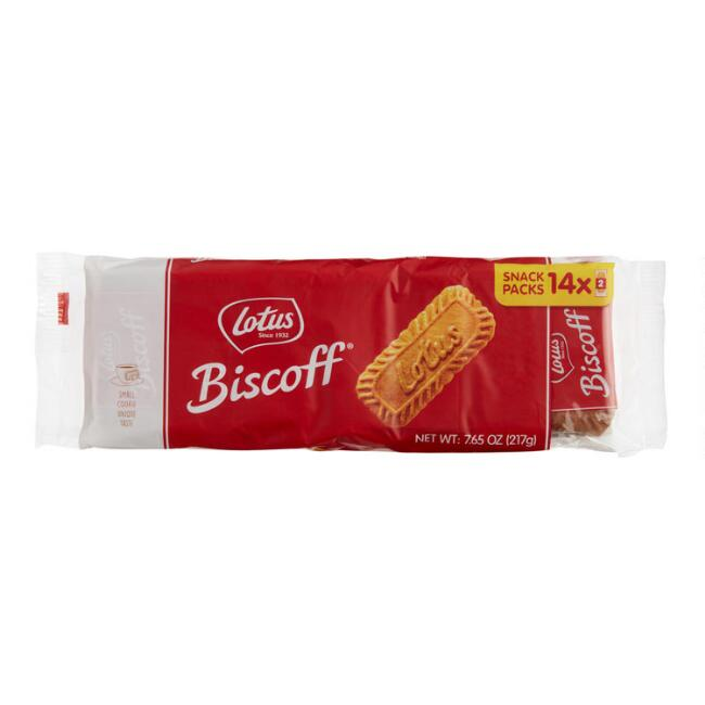 14 Pack Biscoff Cookie Snack Packs Set of 10