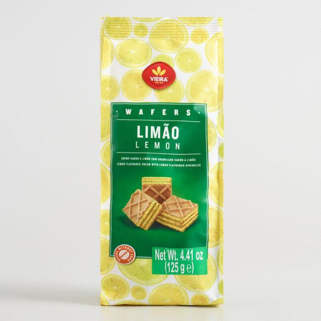 Vieira Lemon Wafer Bites