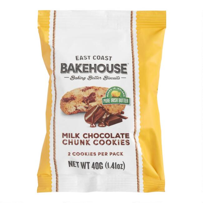 East Coast Bakehouse Milk Chocolate Chunk Cookies Snack Size