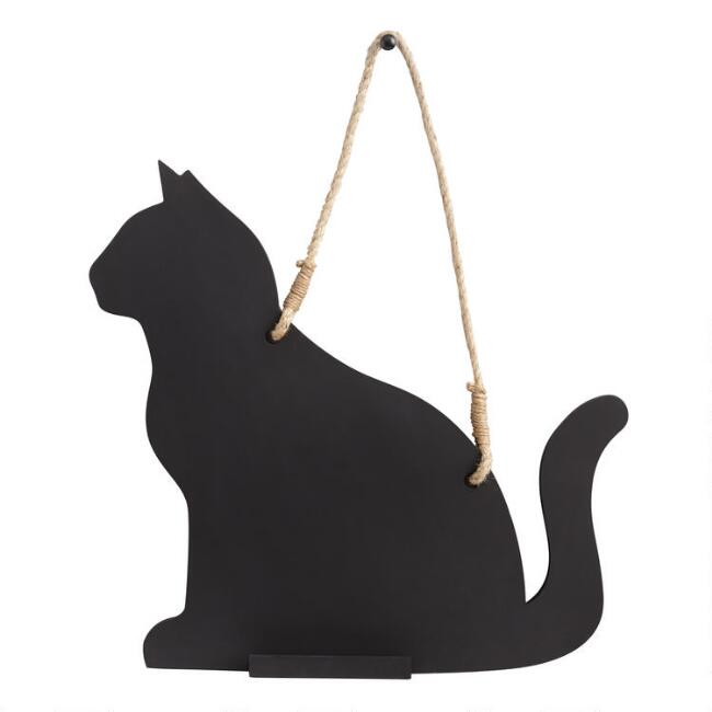 Cat Shaped Chalkboard