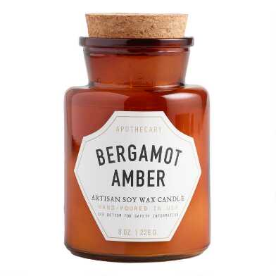 Paddywax Bergamot Amber Old Fashioned Filled Candle