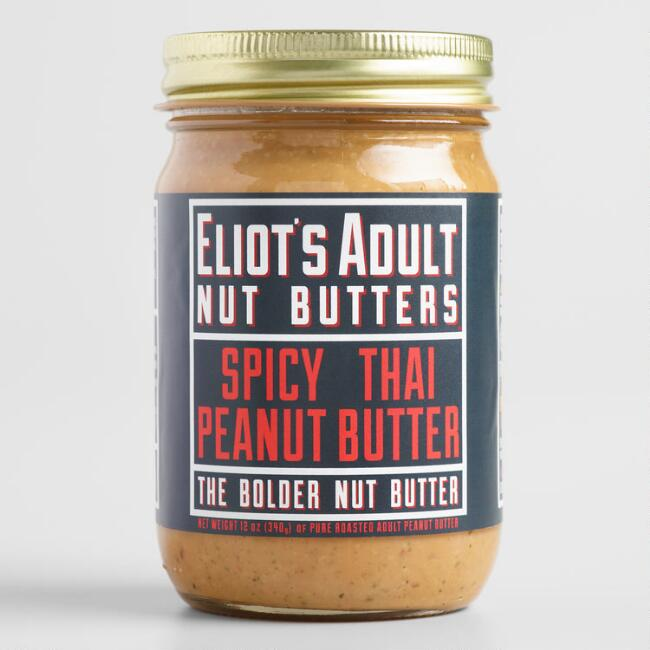 Eliot's Adult Nut Butters Spicy Thai Peanut Butter