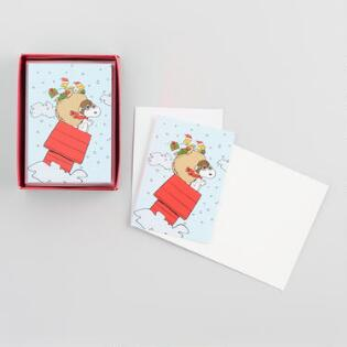 Christmas cards holiday greeting cards world market snoopy red baron boxed holiday cards set of 15 m4hsunfo