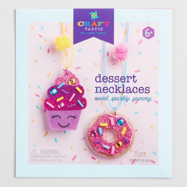 Dessert Necklaces Craft Kit