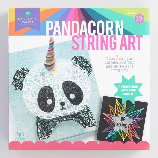 Pandacorn String Art Craft Kit