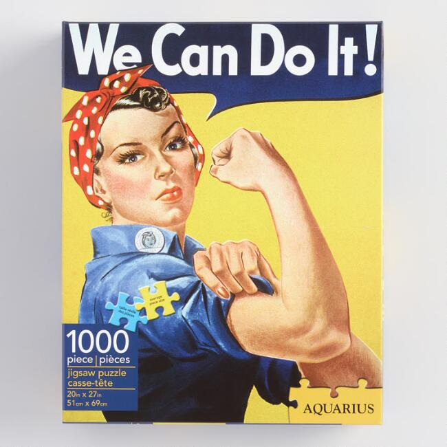 We Can Do It 1,000 Piece Jigsaw Puzzle