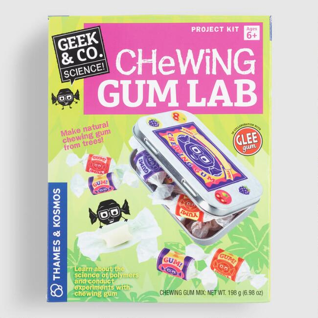 Geek and Co. Chewing Gum Lab Science Kit