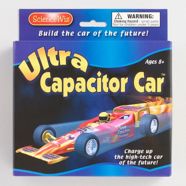 ScienceWiz Ultra Capacitor Car Kit