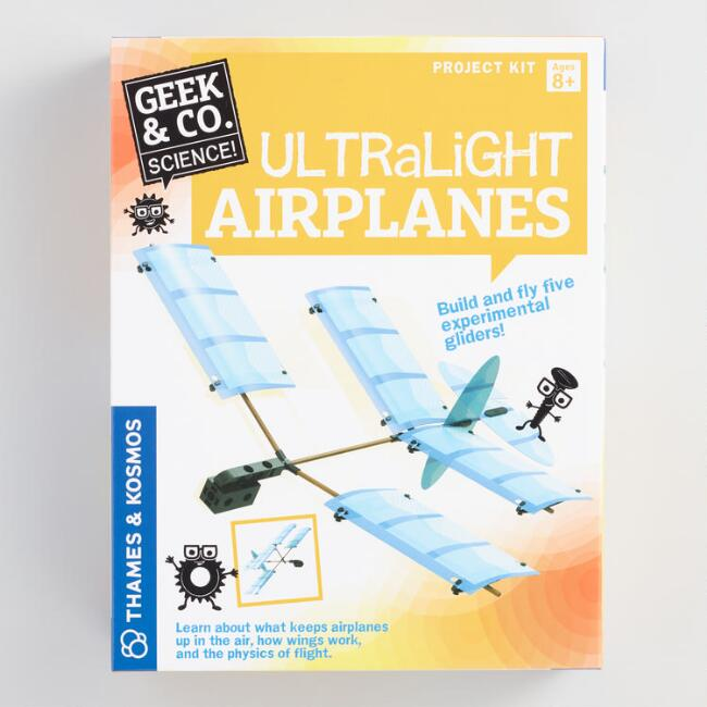 Geek and Co  Ultralight Airplanes Science Kit