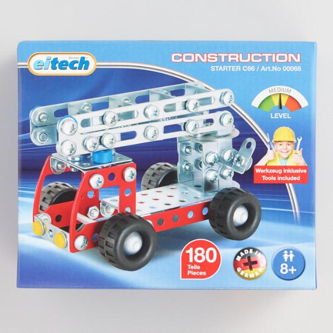 Eitech Fire Truck Building Kit